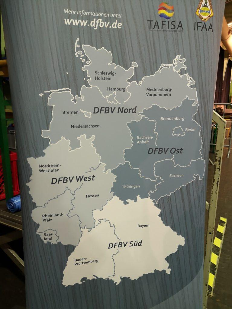 DFBV Regionen